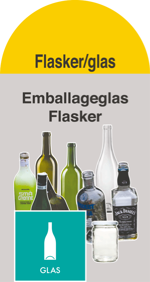 Flasker / glas (Container 8)