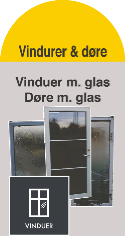 Vinduer / døre (Container 14)