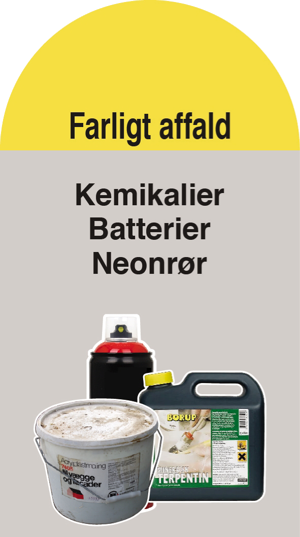 Farligt affald (Container 2)