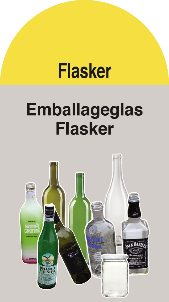 Flasker / glas (Container 15)