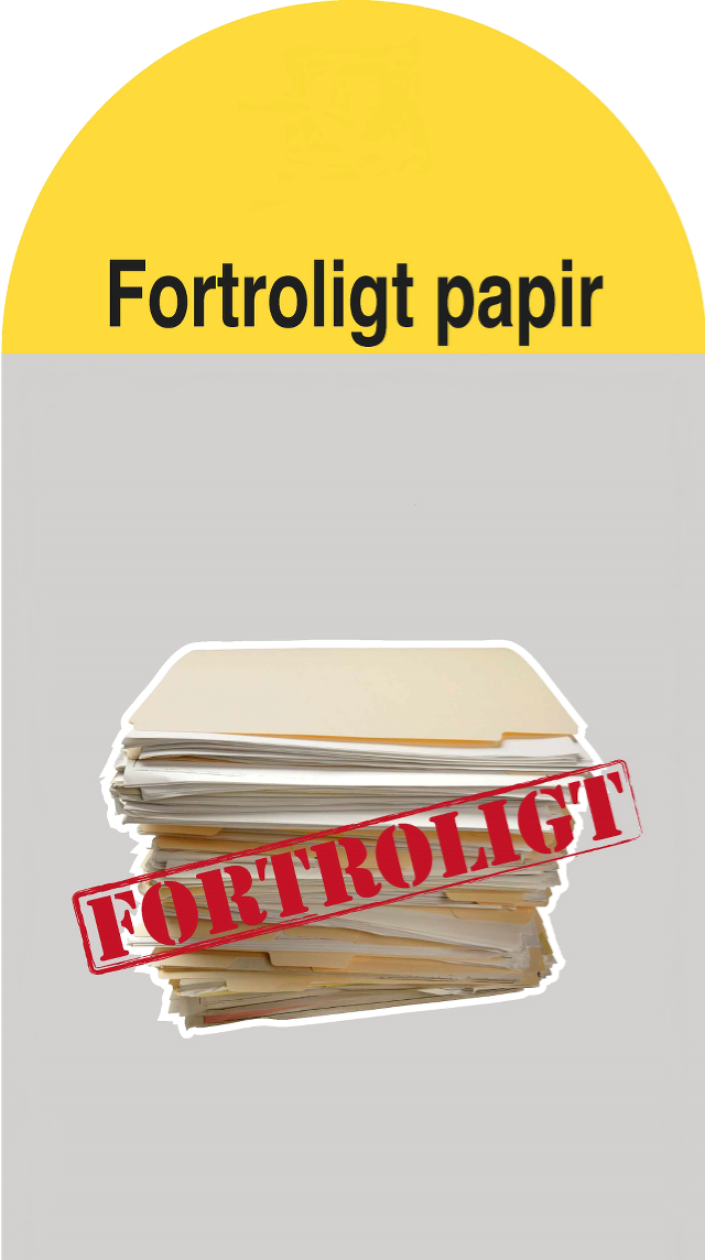 Fortroligt papir (Container 17)