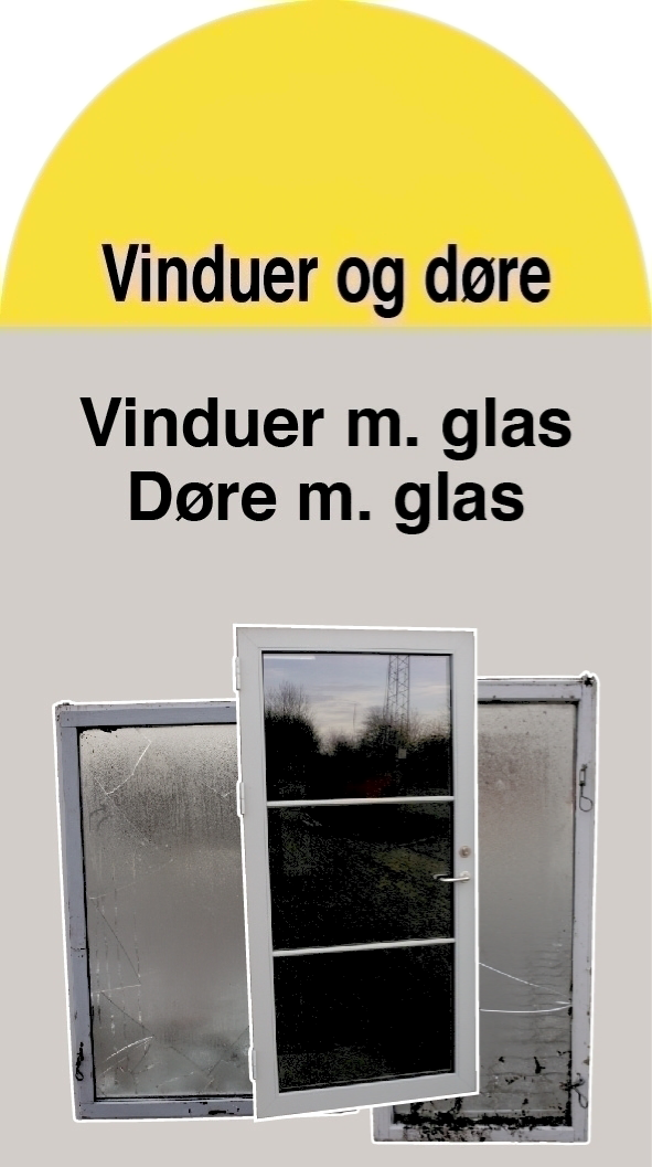 Vinduer / døre (Container 20)